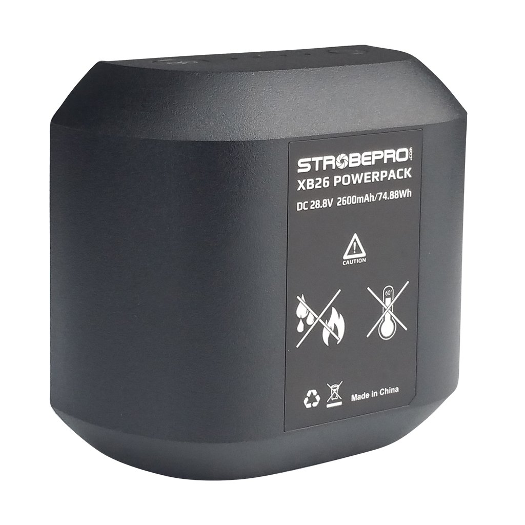 Strobepro XB26 (Godox WB26) Battery for X600 PRO TTL AD600 PRO - Strobepro Studio Lighting