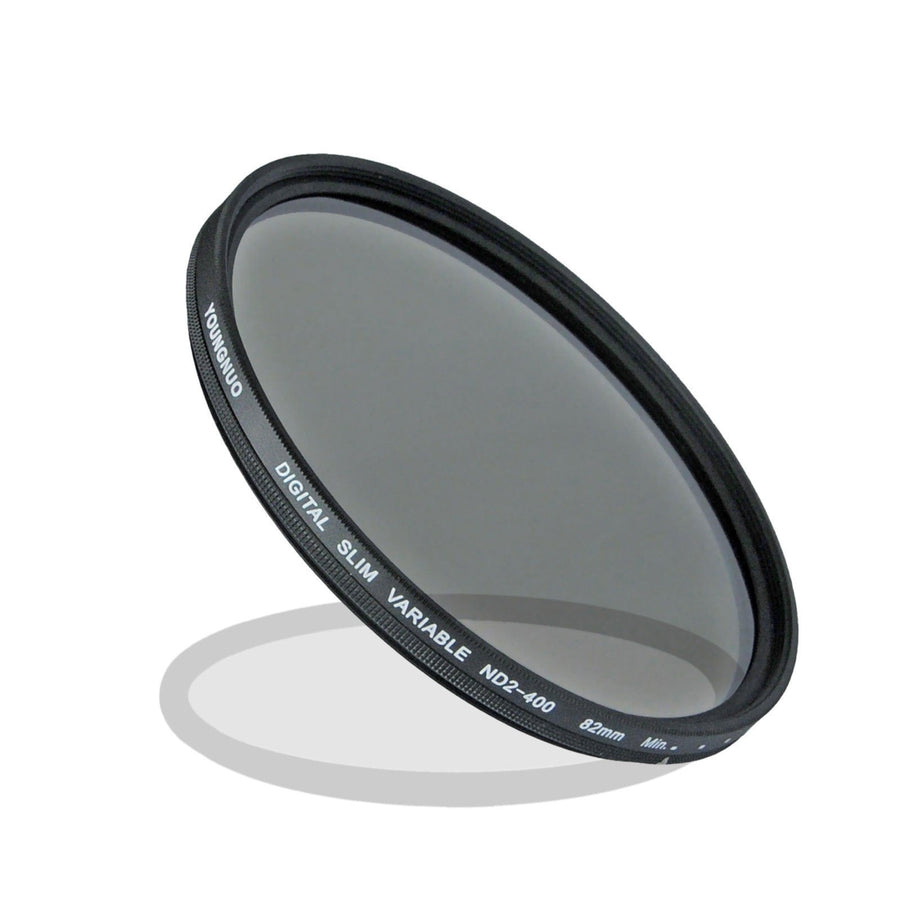 Yongnuo Variable ND2-400 Slim Neutral Density Filter - Strobepro Studio Lighting