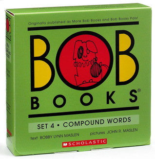 Bob Books: Set 4 Compound Words