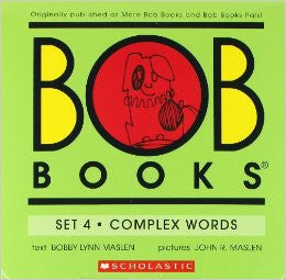 Bob Books: Set 4 Complex Words