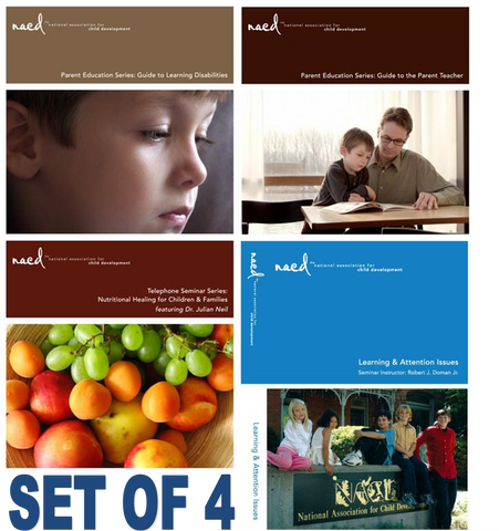 SET OF 5 NACD EDUCATION GUIDES AND SEMINARS