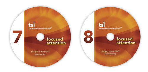 TSI: Focused Attention Program - CDs 7 & 8 (Advanced Level)