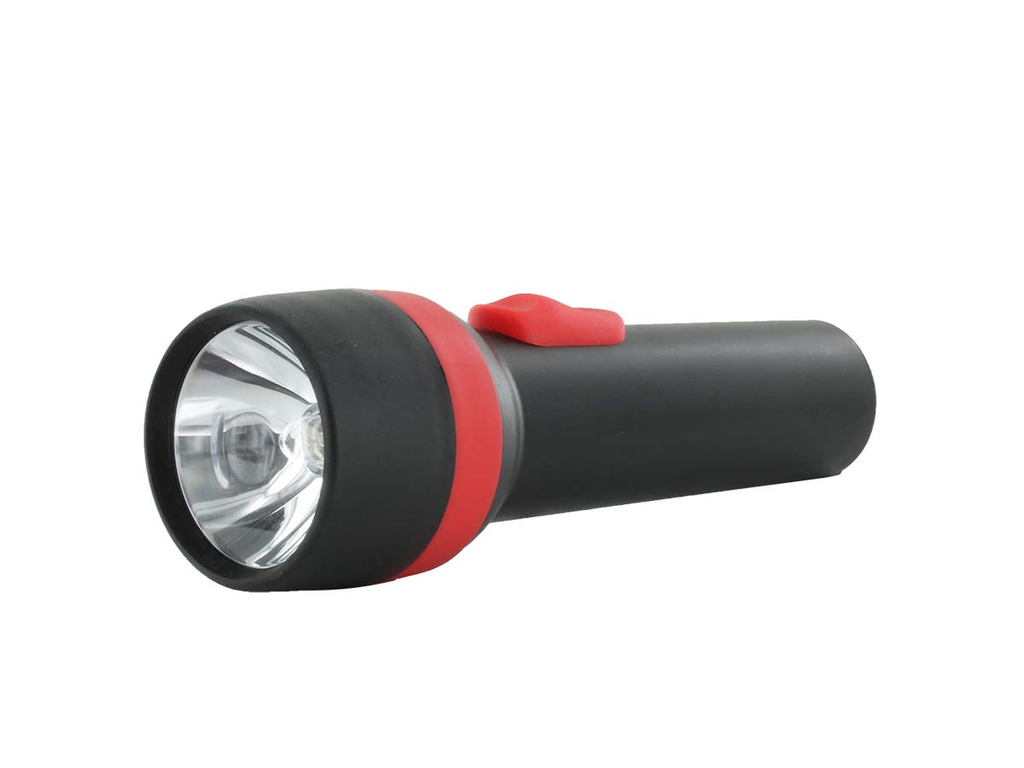 Flashlight - translucent / incandescent / plastic