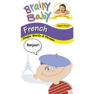 Brainy Baby: French DVD