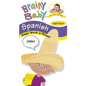 Brainy Baby: Spanish DVD