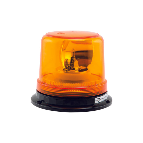 Amber Rotating Beacon Hard Wire