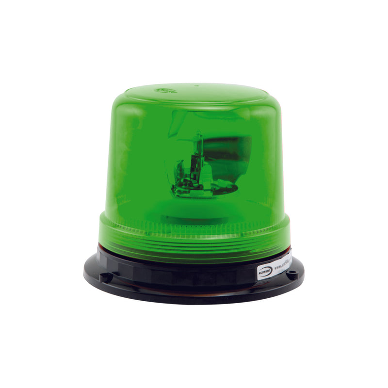 Green Rotating Beacon Hard Wire