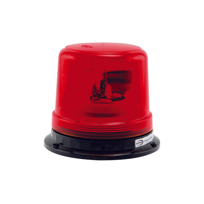 Red Rotating Beacon Hard Wire