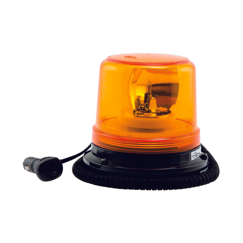 Amber Halogen Rotating Beacon Magnetic
