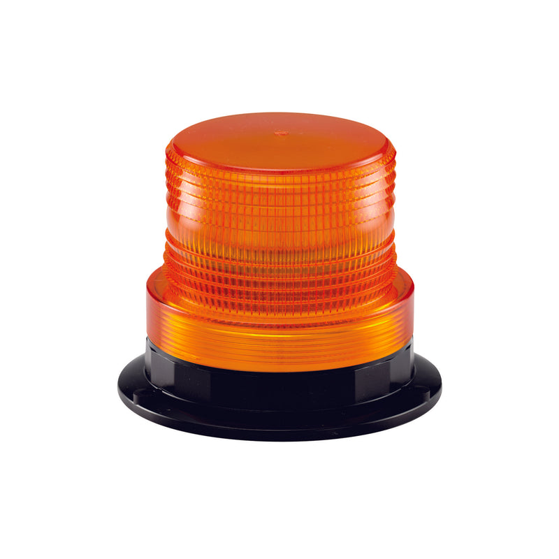 Amber Small Xenon Beacon Hard Wire