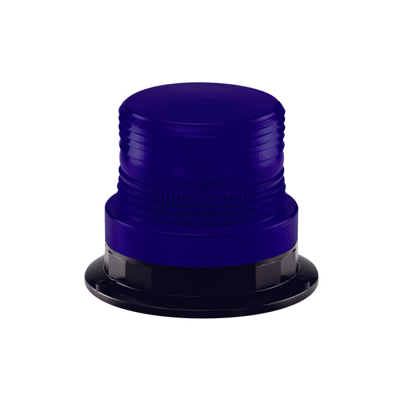 Blue Small Xenon Beacon Hard Wire