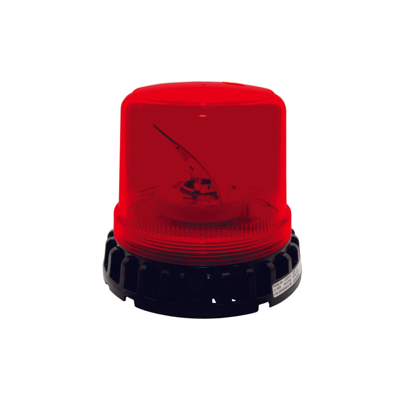 Red LED Rotating Beacon