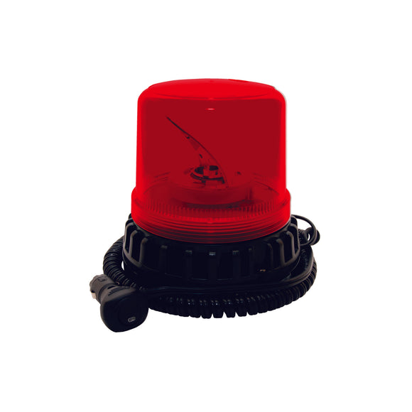Red Magnetic LED Rotating Beacon