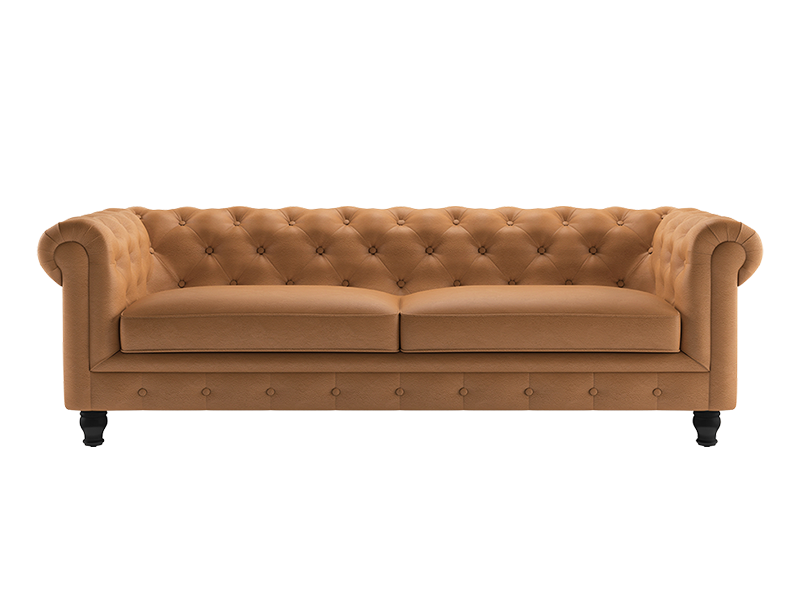 Valerie 3 Seater Sofa -  Leatherite