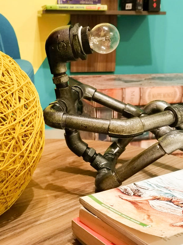 Metal Man Lamp