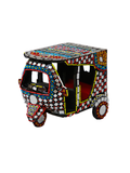 Decorative Glass Work Rickshaw - Medium