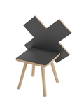 Cureton Kids Chair in Black
