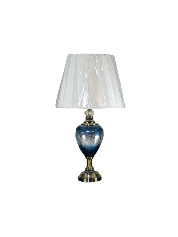 Imelda Table lamp - Crystal blue