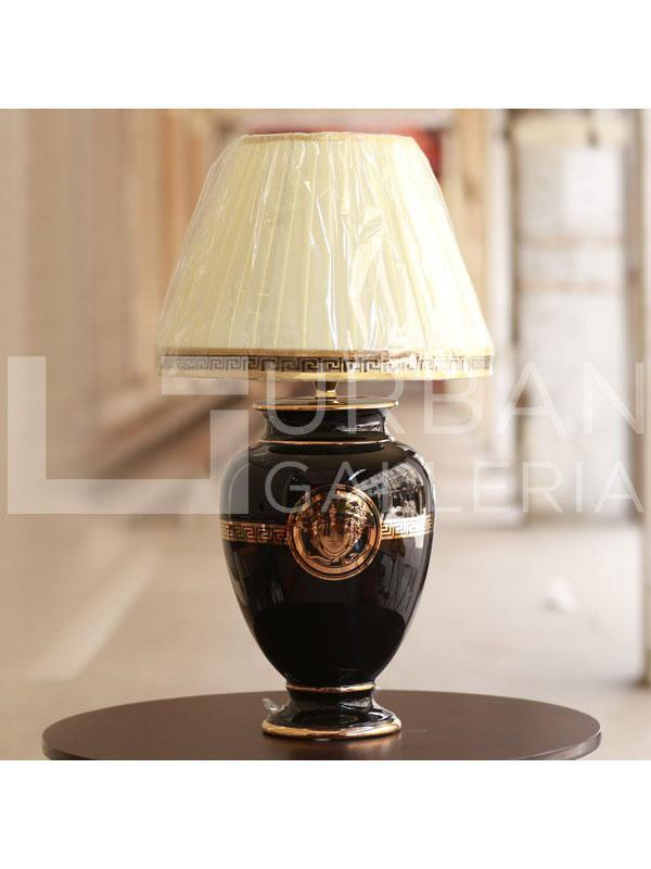 Versace table lamp (pair) Black