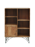 Zachary Solid Wood Book Shelf