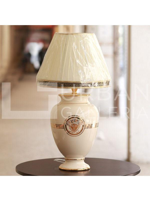 Versace table lamp (pair) White