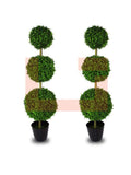 Tropedo Ball Planter Pair
