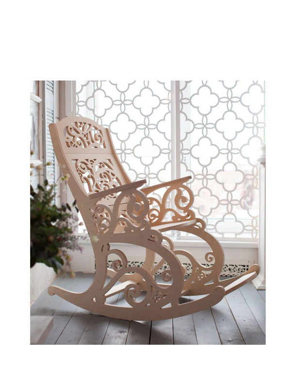 Chiseled Rocking Chair