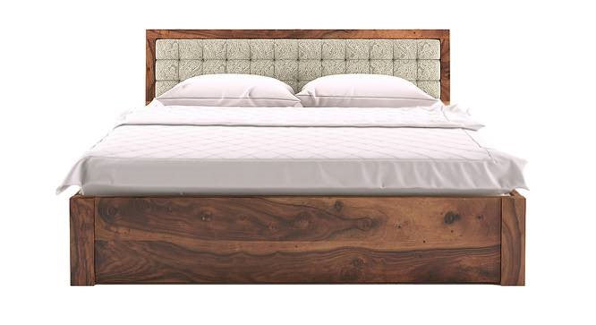 Cipher Double Bed with Storage - Walnut