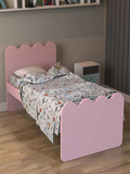 Englevale Panel Bed in Pink