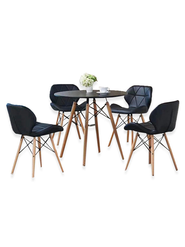 Cleotha Dining Set - Black