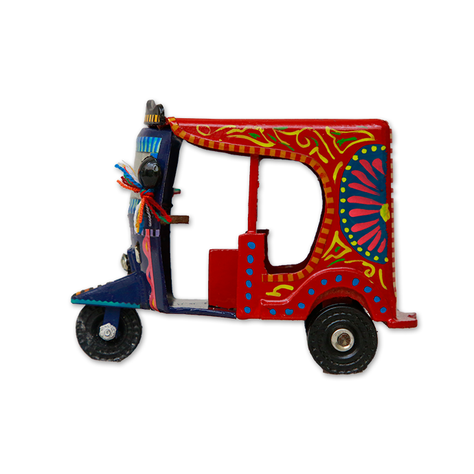 Fancy Rickshaw - Handmade