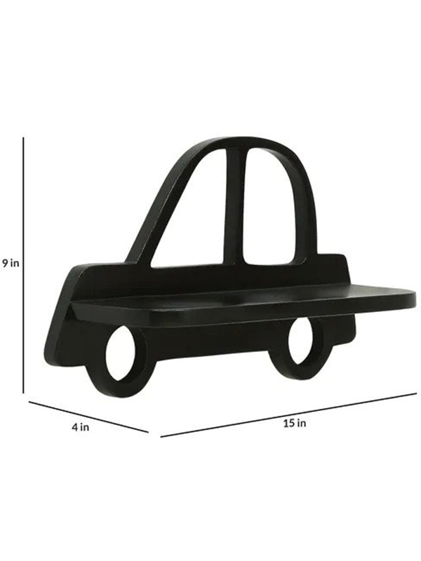 Artoria Kids wall shelf in Black - Urban Galleria