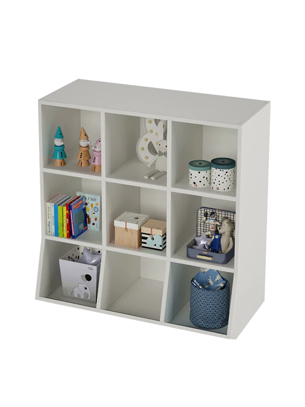 Netherhall Storage Cabinet in Frosty White