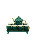 Tea Set- Teal Green