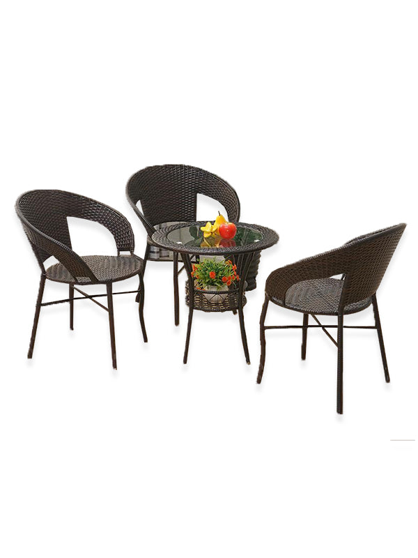 Becket Black Dining Set