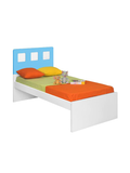 Kimberely Kids Single Bed in Blue & White Colour