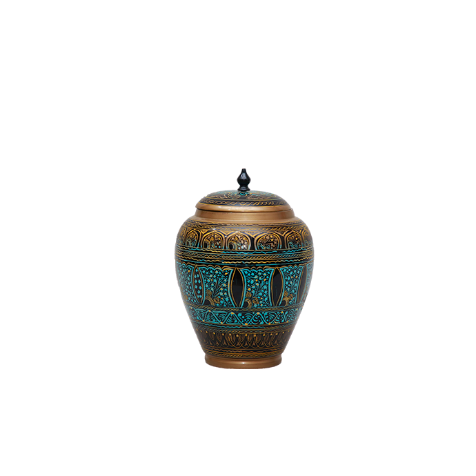 Boho Candy Jar - Blue