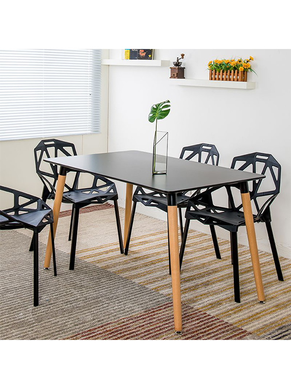 Kayan Dining Set - Black