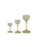 Gold Crystal Decorative Set - Rounds