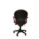 Mid-Back Task Chair-Red