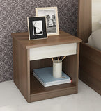 Elbina Bed Side Table - Light Brown