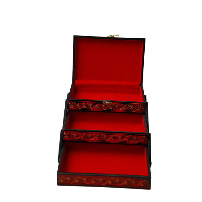 Tijori Jewellery Box - Red