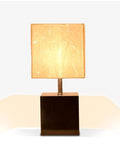 Wooden Box Lamp