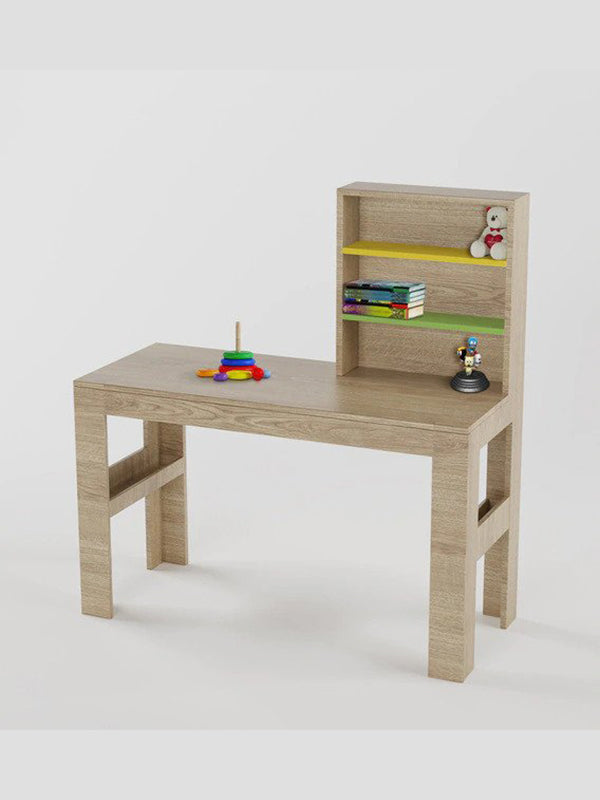 Versanora Study Table in Oak Finish