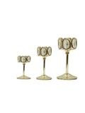 Gold Crystal Decorative Set - Squares