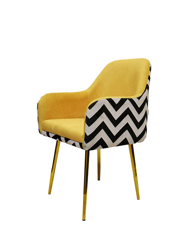 Deska Visitor Chair - Yellow