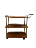 Wooden Oregan Bar Cart