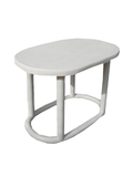 Volga Oval Table - White