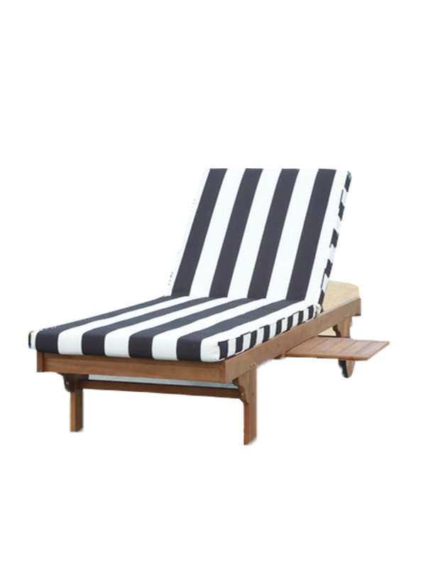 Petuna Zebra Chaise Lounge Chair