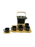 Tea Set- Black